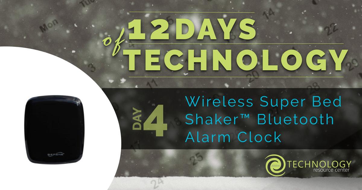 Bed Shaker Alarm Clock Banner