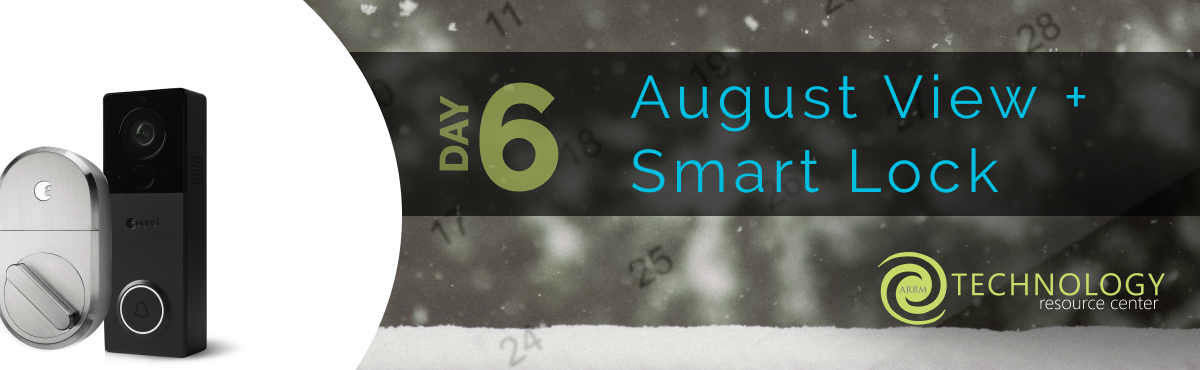 August View  + Smart Lock Banner